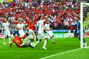 点球胜西班牙 战斗民族战斗到最后一刻