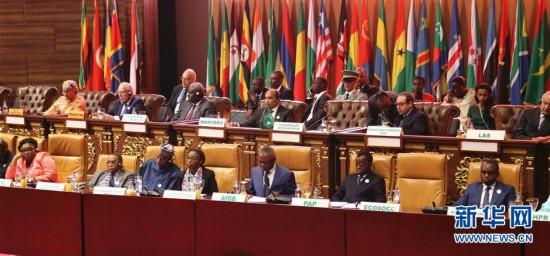 非洲联盟第31届首脑会议在毛里塔尼亚开幕