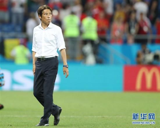(世界杯)(11)足球――八分之一决赛:日本队遭淘汰