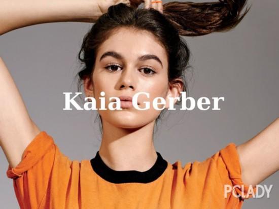 台步实力碾压网红超模的Kaia Gerber硬照实力堪忧