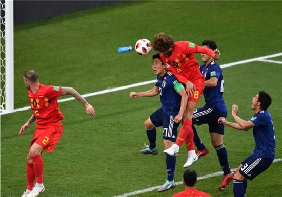 逆转绝杀!比利时队3:2胜日本队进八强