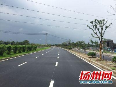 扬州平山堂路西延至真州路预计7月正式通车