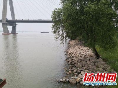 扬州闸将闸门提升半米 丘陵山区水位上涨较快