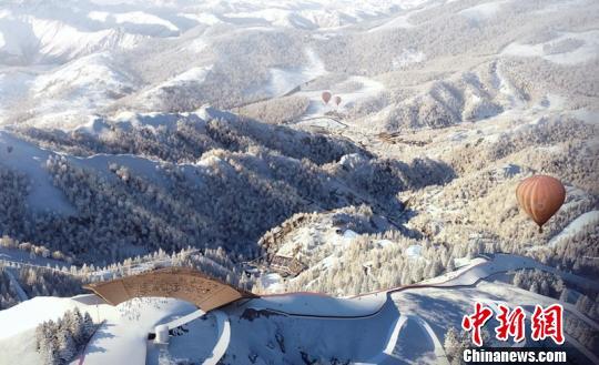 国家高山滑雪中心效果图。北京市重大办提供