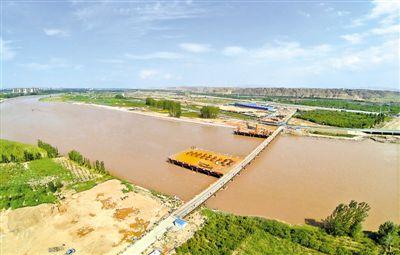 中卫南站黄河大桥项目进展顺利