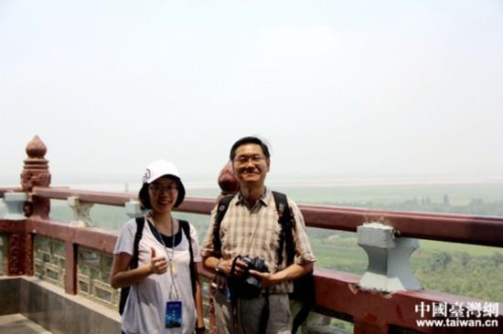 两岸青年学生走进山西永济古楼名刹 追寻中华文化