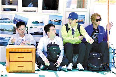 《极限挑战》兄弟团在珠海上演荒岛寻宝之旅