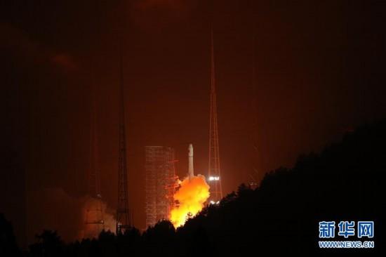 (经济)我国成功发射一颗北斗二号卫星
