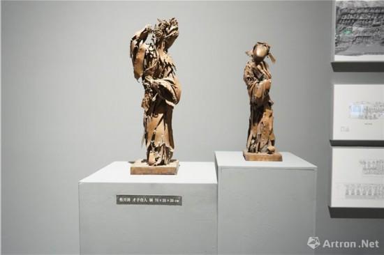 四川美术学院副院长、雕塑系主任焦兴涛作品