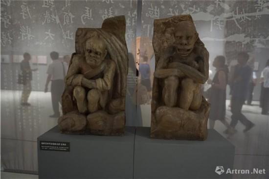 地狱变相寒冰地狱(局部)复制品 四川美术学院