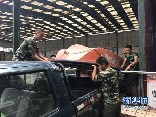 """福建消防进入二级战备状态 防范台风""""玛莉亚"""""""