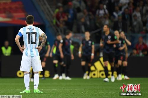 梅西无法带领千疮百孔的阿根廷队前进。