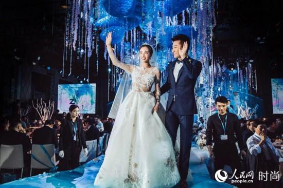 吴敏霞张效诚上海大婚:沪上夜如水,皎皎月如钩【2】