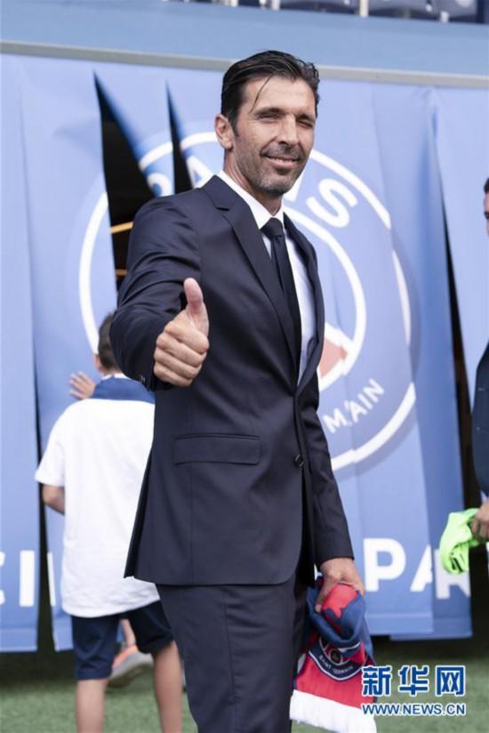 (体育)(4)足球――布冯加盟巴黎圣日耳曼
