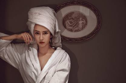 母其弥雅表态巴黎时装周复古时尚大片堪比油画