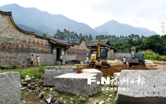 福州连江最大古民居引燃乡村旅游 三落厝10月修复开放