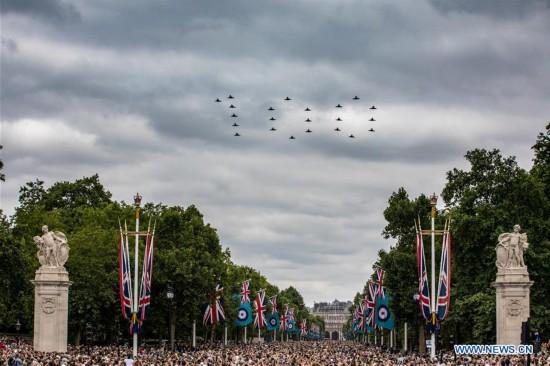 BRITAIN-LONDON-RAF-100TH ANNIVERSARY