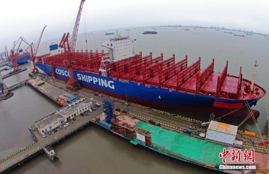 中科院:2018年中国港口集装箱总吞吐量增幅继续领先