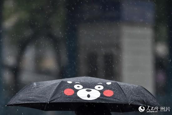 强降雨来袭 北京发布暴雨蓝色预警【4】