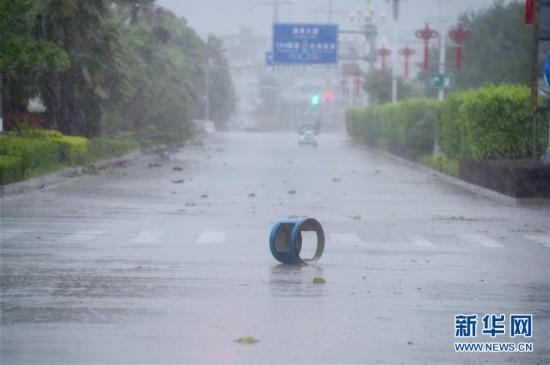 """第8号台风""""玛莉亚""""在福建连江登陆"""