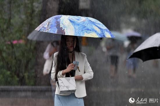 强降雨来袭 北京发布暴雨蓝色预警【3】