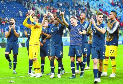 法国队重温20年前旧梦?距离冠军仅一步之遥