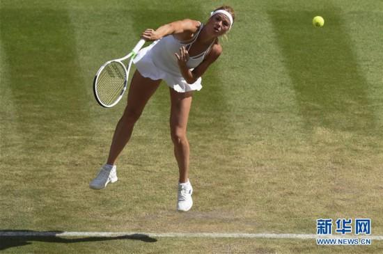 (体育)(6)网球――温网:小威廉姆斯晋级四强