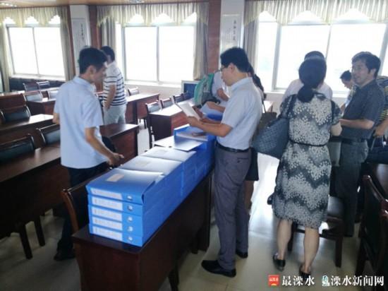 陕西省农业厅来南京溧水考察农村产权交易情况