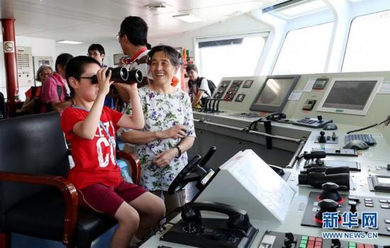 (社会)(1)上海举行2018年中国航海日主题活动