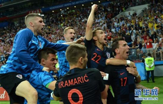 [77](外代二线)俄罗斯世界杯――克罗地亚晋级决赛