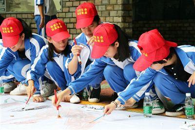 海棠区开展禁毒彩绘宣传 共构禁毒工作格局