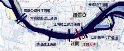 泰州将新增一座过江通道 可能是靖澄过江通道