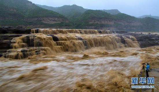 #(环境)(1)黄河壶口瀑布水量增多