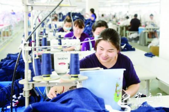 宿迁泗洪:引来项目助农就业