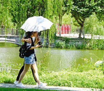 泰州未来7天晴热多云 最高35℃