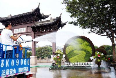 """未来三天扬州将持续""""高烧"""" 全线破35℃"""