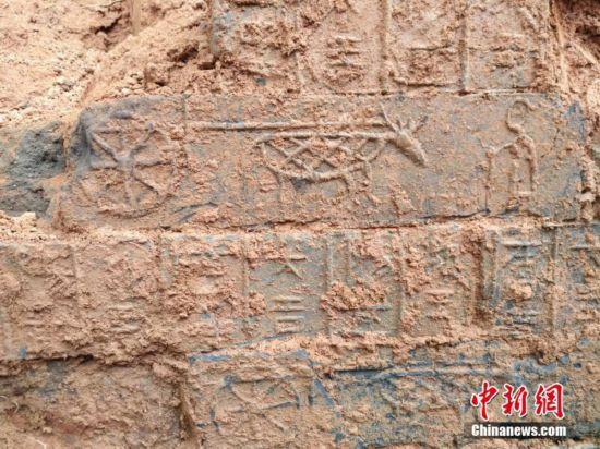 江西发现汉代古墓 初步认定该墓在明清时被盗