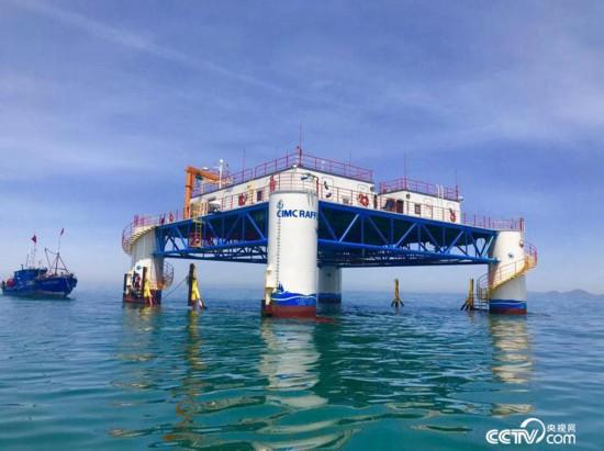 半潜式海洋牧场平台