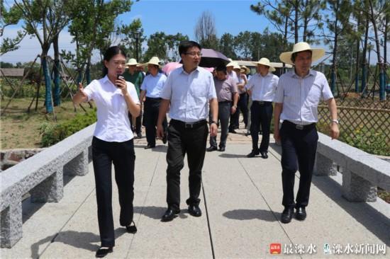 南京市郊区农工委书记工作会议在溧水召开