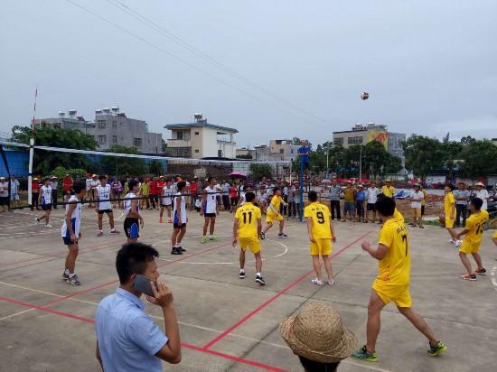 万宁大茂镇军坡节举办系列文体活动
