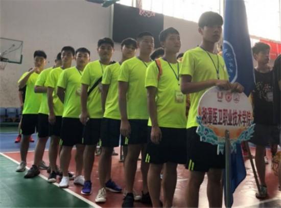 湘潭医卫职业技术学院龙狮队获得传统北狮冠军