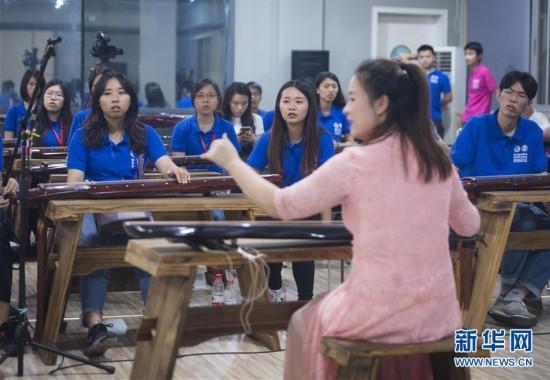 (文化)(3)台湾青年学子的国粹国乐体验课