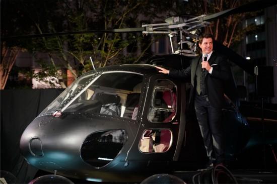 《碟中谍6:全面瓦解》日本首映礼主创帅气亮相