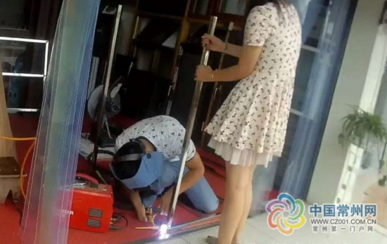 无视警告 常州溧阳两名无证电焊人员被行政拘留
