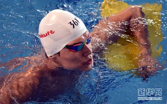 (体育)(4)游泳――孙杨备战亚运会