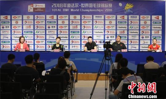 2018羽毛球世锦赛开赛在即,国羽完整名单亮相。 宁羽轩 摄