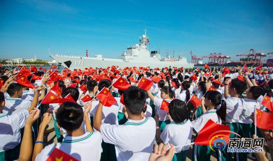 扬威深蓝,那是世界上最安全的地方——记海军海口舰