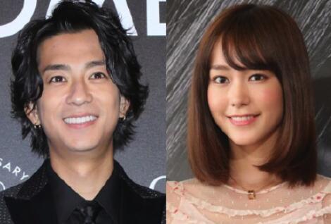 三浦翔平桐谷美玲宣布结婚 五年好友变夫妻!