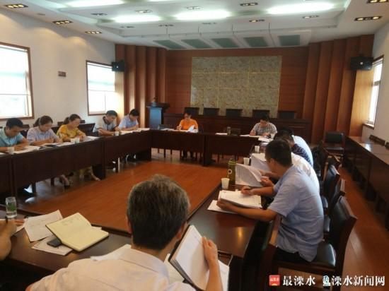 """南京溧水召开""""三项机制""""征求意见座谈会"""