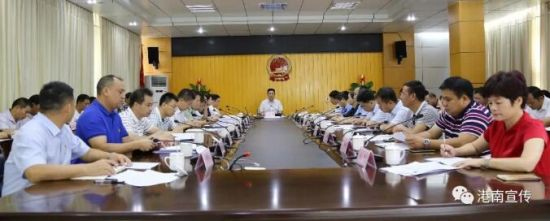 贵港港南区意识形态工作扎实开展